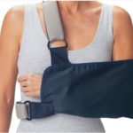 shoulder immobilisers with foam straps
